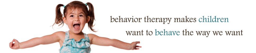 behavior therapy in children