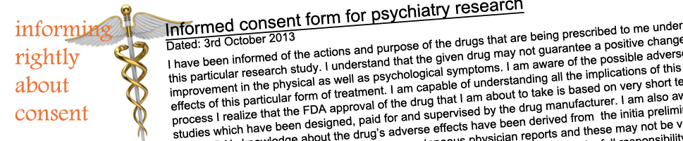 Informed Consent in Psychiatry